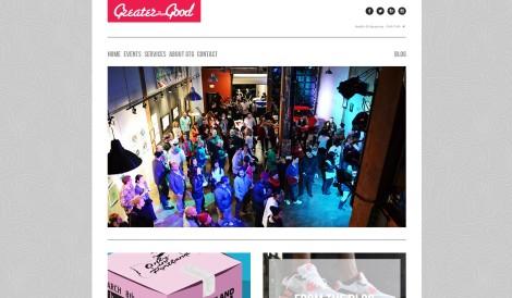 GTG site screenshot